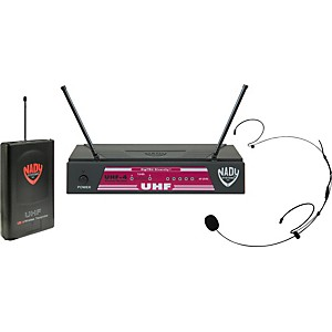 Nady-UHF-4-LT-HM-20U--115--Headset-Wireless-System-Black-Ch-15