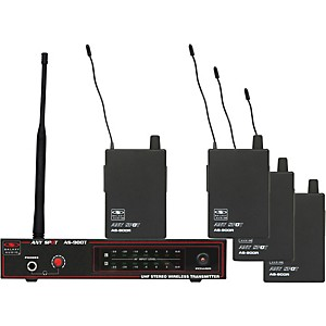 Galaxy-Audio-AS-900-4-Band-Pack-Wireless-System-FREQ--K3-634-8-MHz