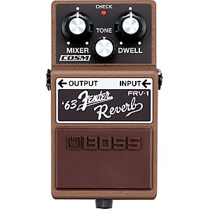 BOSS-FRV-1--63-Fender-Reverb-Guitar-Effects-Pedal-Standard