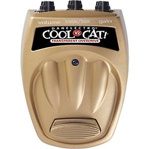Danelectro-Cool-Cat-CTO-2-Transparent-Overdrive-V2-Guitar-Effects-Pedal-Standard