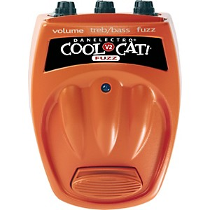 Danelectro-Cool-Cat-Series-CF-2-Cat-Fuzz-Guitar-Effects-Pedal-Standard