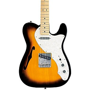 Fender-Classic-Series--69-Telecaster-Thinline-Electric-Guitar-2-Color-Sunburst