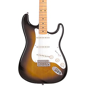 Fender-Classic-Series--50s-Stratocaster-Electric-Guitar-2-Color-Sunburst-Maple-Fretboard