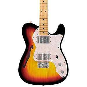 Fender-Classic-Series--72-Telecaster-Thinline-Electric-Guitar-3-Color-Sunburst