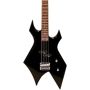 B-C--Rich-Bronze-Warlock-Electric-Bass-Guitar-Black