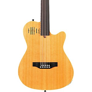 Godin-A11-Glissentar-11-String-Fretless-Acoustic-Electric-Guitar-Natural-Satin