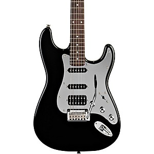 Squier-Black-and-Chrome-Fat-Strat-Electric-Guitar-Black-Rosewood-Fretboard