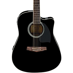 Ibanez-PF-Series-PF15ECE-Dreadnought-Cutaway-Acoustic-Electric-Cutaway-Guitar-Gloss-Black