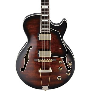 Ibanez-Artcore-Expressionist-AG95-Hollowbody-Electric-Guitar-Dark-Brown-Sunburst
