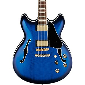Ibanez-Artcore-AS93-Electric-Guitar-Blue-Sunburst