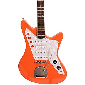 DiPinto-Galaxie-4-Electric-Guitar-Orange