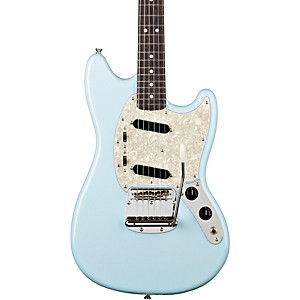 Fender--65-Mustang-Reissue-Electric-Guitar-Daphne-Blue