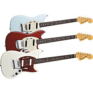 Fender--65-Mustang-Reissue-Electric-Guitar-Dakota-Red