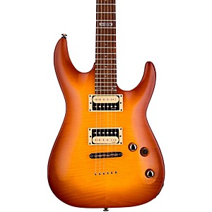 LTD-LTD-H-101-Flame-Maple-Electric-Guitar-Amber-Sunburst