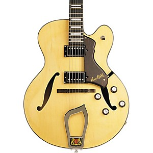 Hagstrom-Jazz-Model-HJ-500-Semi-Hollow-Electric-Guitar-Natural
