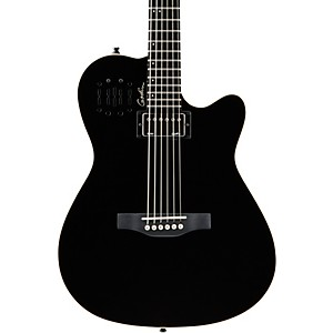 Godin-A6-Ultra-HG-Semi-Acoustic-Electric-Guitar-Black