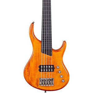 MTD-Kingston-Artist-5-String-Fretless-Bass-Guitar-Amber-Ebonol