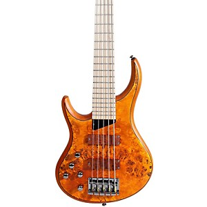 MTD-Kingston-KZ-5-String-Left-Handed-Bass-Burled-Maple-Maple