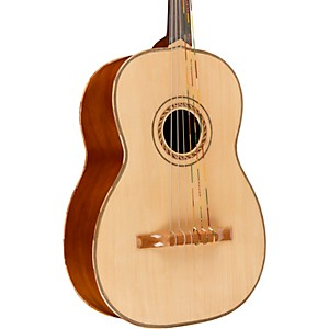Lucida-Guitarron-with-Bag-Natural