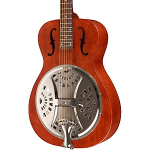 Dobro-Hound-Dog-Round-Neck-Dobro-Guitar-Vintage-Brown