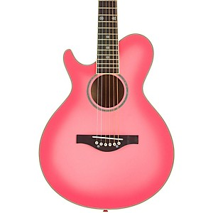 Daisy-Rock-Wildwood-Short-Scale-Left-Handed-Acoustic-Guitar-Pink-Burst