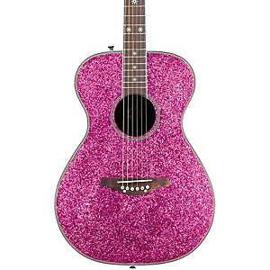 Daisy-Rock-Pixie-Acoustic-Guitar-Pink-Sparkle