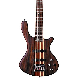 Washburn-Taurus-T25-5-String-Neck-Thru-Electric-Bass-Guitar-Natural-Mahogany