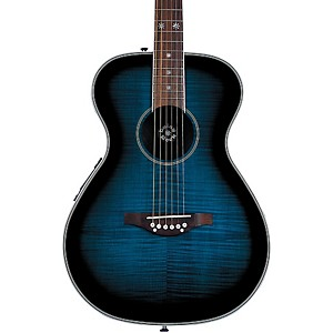 Daisy-Rock-Pixie-Acoustic-Electric-Guitar-Blueberry-Burst