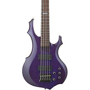 ESP-LTD-F-155DX-5-String-Bass-Guitar-Dark-See-Thru-Purple