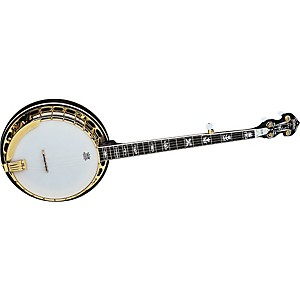 Washburn-B17-Sunburst-5-String-Banjo-w-case-Sunburst