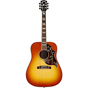 Gibson-Hummingbird-Acoustic-Electric-Guitar-Heritage-Cherry-Sunburst-Nickel