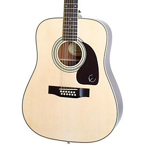 Epiphone-DR-212-12-String-Acoustic-Guitar-Natural-Chrome-Hardware
