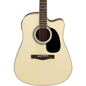 Mitchell-MD100CE-Dreadnought-Cutaway-Acoustic-Electric-Guitar-Natural
