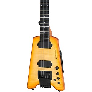 Steinberger-Synapse-ST-2FPA-TranScale-Custom-Electric-Guitar-Transparent-Amber