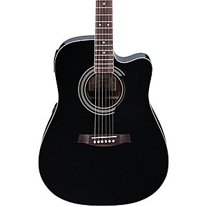 Ibanez-V70CE-Acoustic-Electric-Guitar-Black