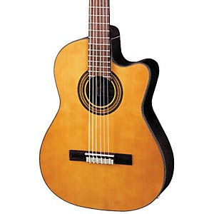 Ibanez-GA-Series-GA6CE-Classical-Cutaway-Acoustic-Electric-Guitar-Natural