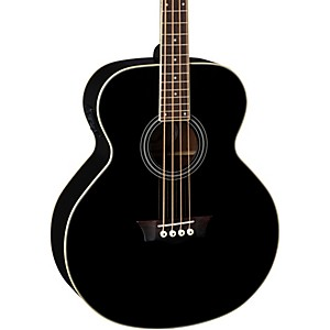 Dean-EAB-Acoustic-Electric-Bass-Black