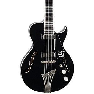 Luna-Guitars-Athena-Sun-Semi-Hollowbody-Electric-Guitar-Black