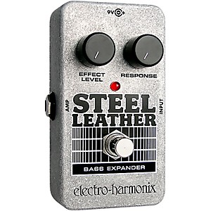 Electro-Harmonix-Nano-Steel-Leather-Bass-Expander-Effect-Pedal-Standard