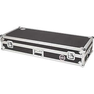 Road-Runner-Keyboard-Flight-Case-with-Casters-Black-61-Key