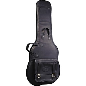 Levy-s-Italian-Leather-Electric-Guitar-Gig-Bag-Black