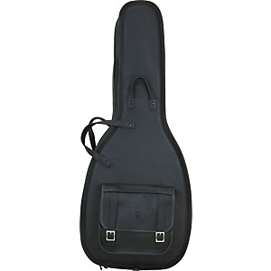 Levy-s-Italian-Leather-Acoustic-Guitar-Gig-Bag-Black
