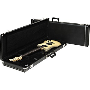 Fender-Jazzmaster-Hardshell-Case-Black-Black-Plush-Interior