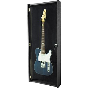 Musician-s-Gear-Electric-Guitar-Display-Case-Black