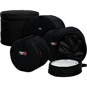 Gator-GP-Fusion-100-5-Piece-Padded-Drum-Bag-Set-Black