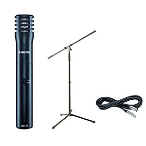 Shure-SM137-Condenser-Mic-with-Cable-and-Stand-Standard