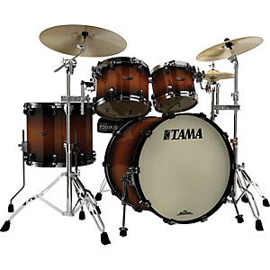 Tama-Starclassic-Maple-4-piece-Shell-Pack-Dark-Cherry-Sunburst