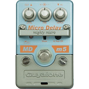 GUYATONE-Mighty-Micro-MDm5-Digital-Delay-Guitar-Effects-Pedal-Standard