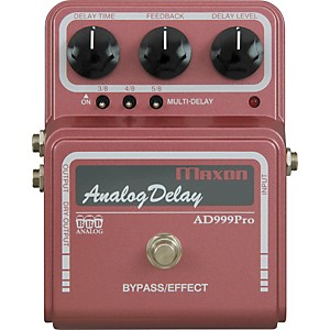 Maxon-AD999-Pro-Analog-Delay-Guitar-Effects-Pedal-Standard