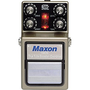 Maxon-TBO-9-True-Tube-Booster-Overdrive-Guitar-Effects-Pedal-Standard